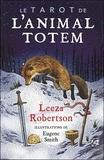 Leeza Robertson - Coffret Le tarot de l'animal totem - Contient : 78 cartes et 1 livre.