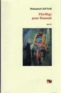 Livres gratuits téléchargements du domaine public Florilège pour Hannah par Leftah Mohamed