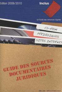 Legiteam - Guide des sources documentaires juridiques - CD-ROM, périodiques, sites Internet.