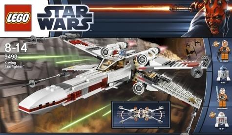 Lego Star Wars X Wing