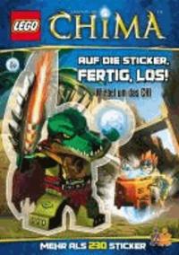LEGO Legends of Chima. Auf die Sticker, fertig, los! - Wirbel um das CHI.