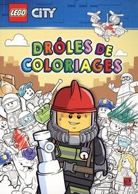 Lego - Lego City - Drôles de coloriages.