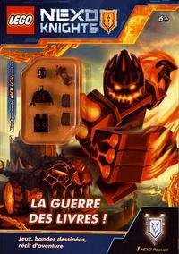 Lego et  Ameet - Lego Nexo Knights - La guerre des livres - Avec une mini-figurine de Molitor.
