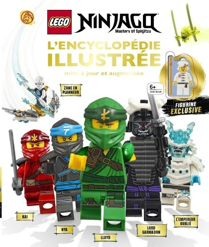 Lego Ninjago L Encyclopedie Illustree Avec Une Figurine Exclusive Grand Format
