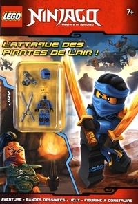 Lego - Lego Ninjago Masters of Spinjitzu - L'attaque des pirates de l'air ! Avec une figurine à assembler.