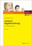 Lehrbuch Abgabenordnung - Mit Finanzgerichtsordnung..