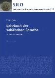 Lehrbuch der sabäischen Sprache - 1. Teil: Grammatik.