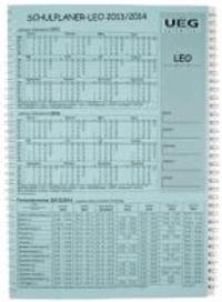Lehrerkalender-Schulplaner LEO 2013-2014 DIN A4.