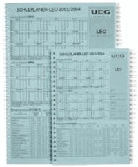 Lehrerkalender-Schulplaner LEO 2013-2014 DIN A5.