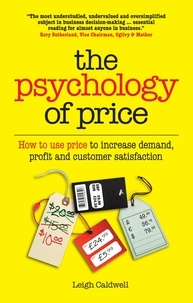 Leigh Caldwell - The psychology of price.