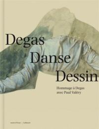 Leïla Jarbouai et Marine Kisiel - Degas danse dessin - Hommage à Degas avec Paul Valéry.