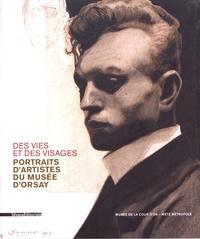 Leïla Jarbouai et Claire Meunier - Des vies et des visages - Portraits d'artistes du musée d'Orsay.