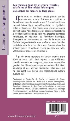 Les femmes dans les discours fréristes, salafistes et féministes islamiques. Une analyse des rapports de force genrés