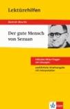 """Lektürehilfen Bertolt Brecht """"Der Gute Mensch von Sezuan""""."""