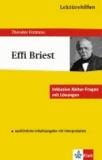 Lektürehilfen Effi Briest. Mit Materialien - Inklusive Abitur-Fragen mit Lösungen. Ausführliche Inhaltsangaben mit Interpretation.