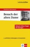 """Lektürehilfen Friedrich Dürrenmatt """"Der Besuch der alten Dame""""."""