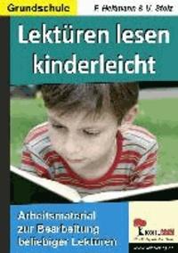 Lektüren lesen kinderleicht - Arbeitsmaterial zur Bearbeitung beliebiger Lektüren.