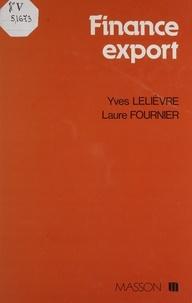 Lelievre - Finance export.