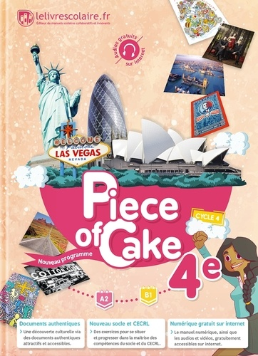 Anglais 4e Piece Of Cake Compact