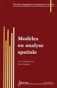 Lena Sanders - Modèles en analyse spatiale.