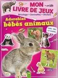 Lena Steinfeld - Mon livre de jeux adorables bébés animaux.