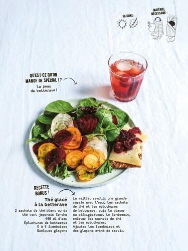 Salades (presque) zéro déchet. 70 recettes pour tout valoriser