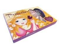 Mon coffret Princesses- Avec 1 couronne, 1 sceptre, 1 paire de gants - Lenia Major |