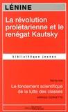 Lénine - La révolution prolétarienne et le renégat Kautsky.
