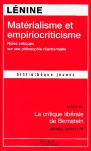 Lénine - Matérialisme et empiriocriticisme - Notes critiques sur une philosophie réactionnaire.