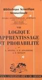 Léo Apostel et A. R. Jonckheere - Logique, apprentissage et probabilité (8).