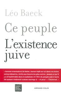 Léo Baeck - Ce peuple - L'existence juive.