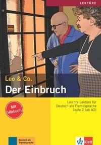 Leo & Co - Der Einbruch - Stufe 2 (ab A2). 1 CD audio MP3