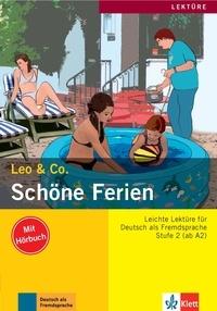 Leo & Co - Schöne Ferien - Stufe 2 (ab A2). 1 CD audio
