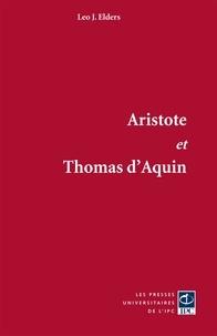 Léo Elders - Aristote et Thomas d'Aquin.