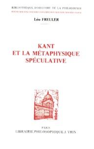 Kant et la métaphysique spéculative.pdf