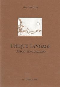Léo Gantelet - Unique langage.