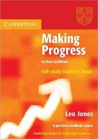 Leo Jones - Making progress self-study student's book.