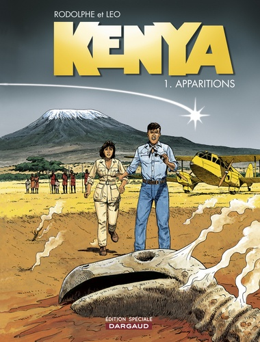 Kenya Tome 1 Apparitions