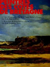 Léo Kerlo et René Le Bihan - Peintres des côtes de Bretagne Coffret en 2 volumes : Tome 1, Côte d'Emeraude : du Mont-Saint-Michel à Erquy ; Tome 2, De la baie de Saint-Brieuc à Brest.