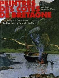 Léo Kerlo et Jacqueline Duroc - Peintres des côtes de Bretagne - Tome 4, De Quimper à Concarneau, de Pont-Aven à l'anse du Pouldu.