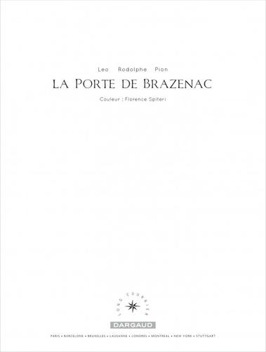 La porte de Brazenac