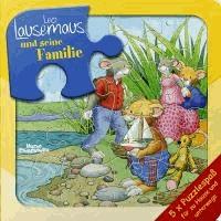 Leo Lausemaus und seine Familie. Puzzlebuch.