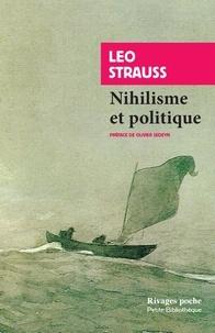 Téléchargement gratuit d'ebook par numéro isbn Nihilisme et politique par Leo Strauss 9782743649265 FB2