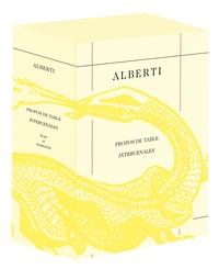 Leon Battista Alberti - Intercenales/petites pièces à lire entre convives.