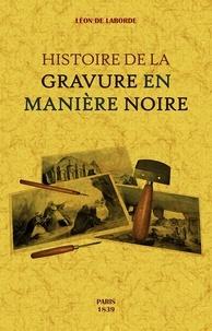 Feriasdhiver.fr Histoire de la gravure en manière noire Image