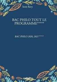 Léon Flavy - BAC PHILO, tout le programme.