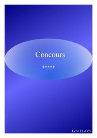 leon flavy - CONCOURS ENSEIGNEMENT***.