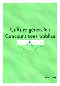 Léon Flavy - Culture générale 2018 *****.