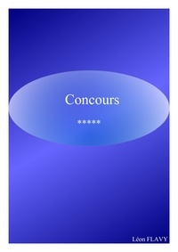 Léon Flavy - INTEGRER HEC, CONCOURS 2019, 2020*****.