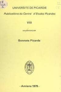 Léon Goudallier et  Centre d'études picardes - Sonnets picards.